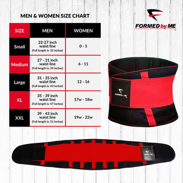160241128 SWEAT and SLIM WAIST TRIMMER with BACK SUPPORT – Online Fitness Shop